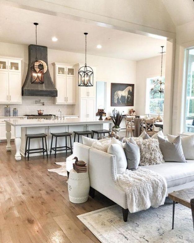 29 Living Room Interior Design: +29 The Bizarre Secret Of Dream House Ideas Kitchens Open