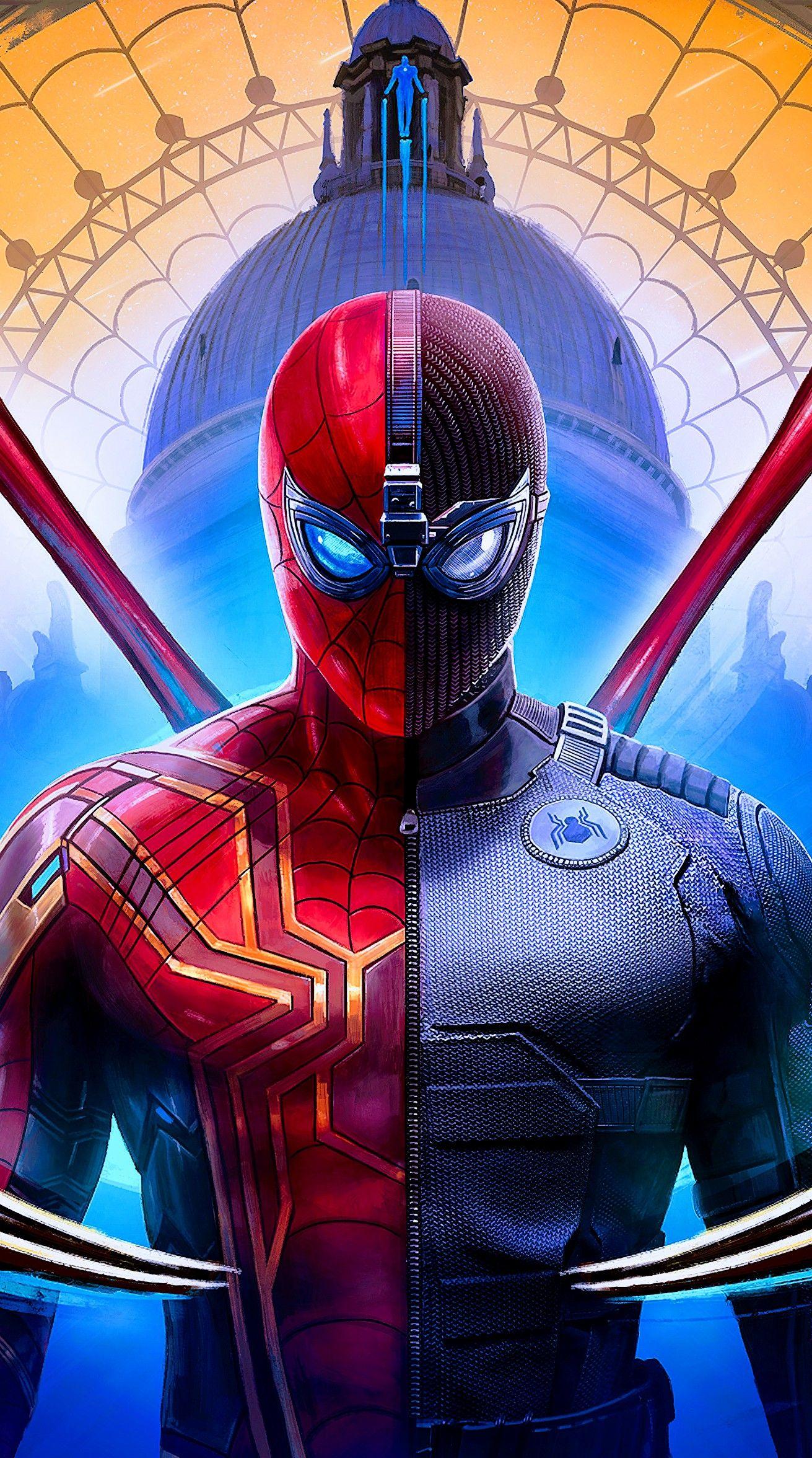 Iron Spider Man Dibujos Marvel Spiderman Personajes Arte De Marvel