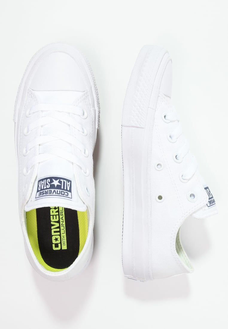 Converse CHUCK TAYLOR ALL STAR II - Sneakers laag - white ...