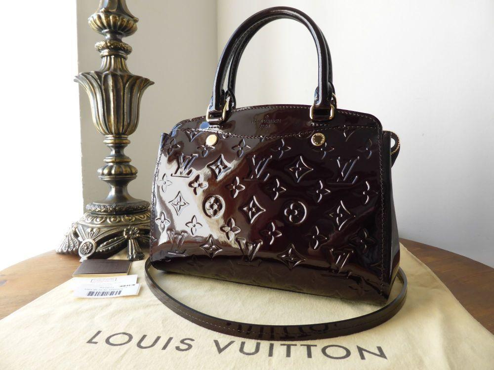 Louis Vuitton Brea PM in Amarante Vernis - SOLD