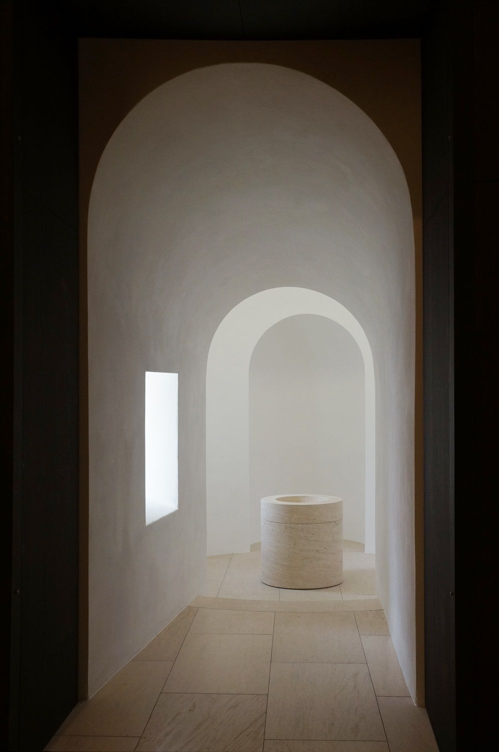 John pawson st moritz church augsburg d w e l l for Interior design augsburg