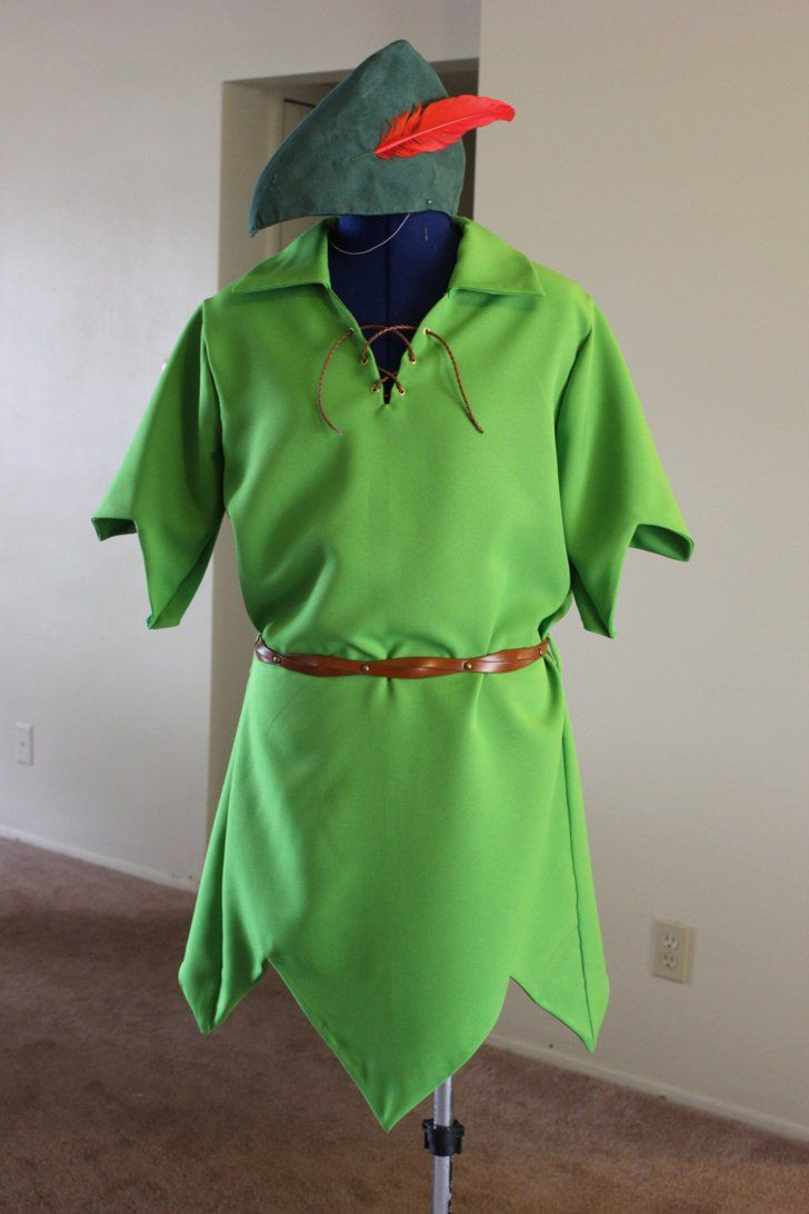 Pin for Later: 200+ Adorable Halloween Costumes For Your Trick-or-Treating Tot Peter Pan Journey to Neverland in Bits n Scraps's Peter Pan ($90) costume for your little boy.