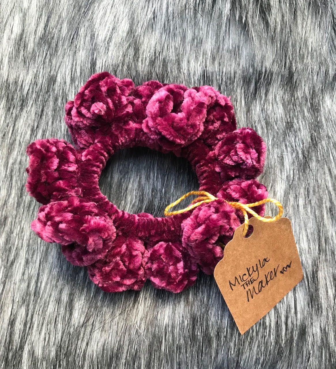 Velvet Scrunchie Pattern