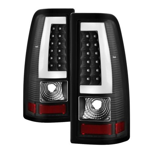 Smoked 2007 2017 Silverado Led Tail Lights Lamps Left Right Aftermarket 07 13 2008 2009 2010 08 09 10 11 12 Chrome