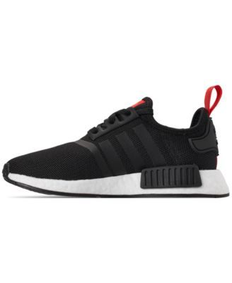 c31a340b5f3d8 adidas Boys  Nmd Runner Casual Sneakers from Finish Line - Black 5