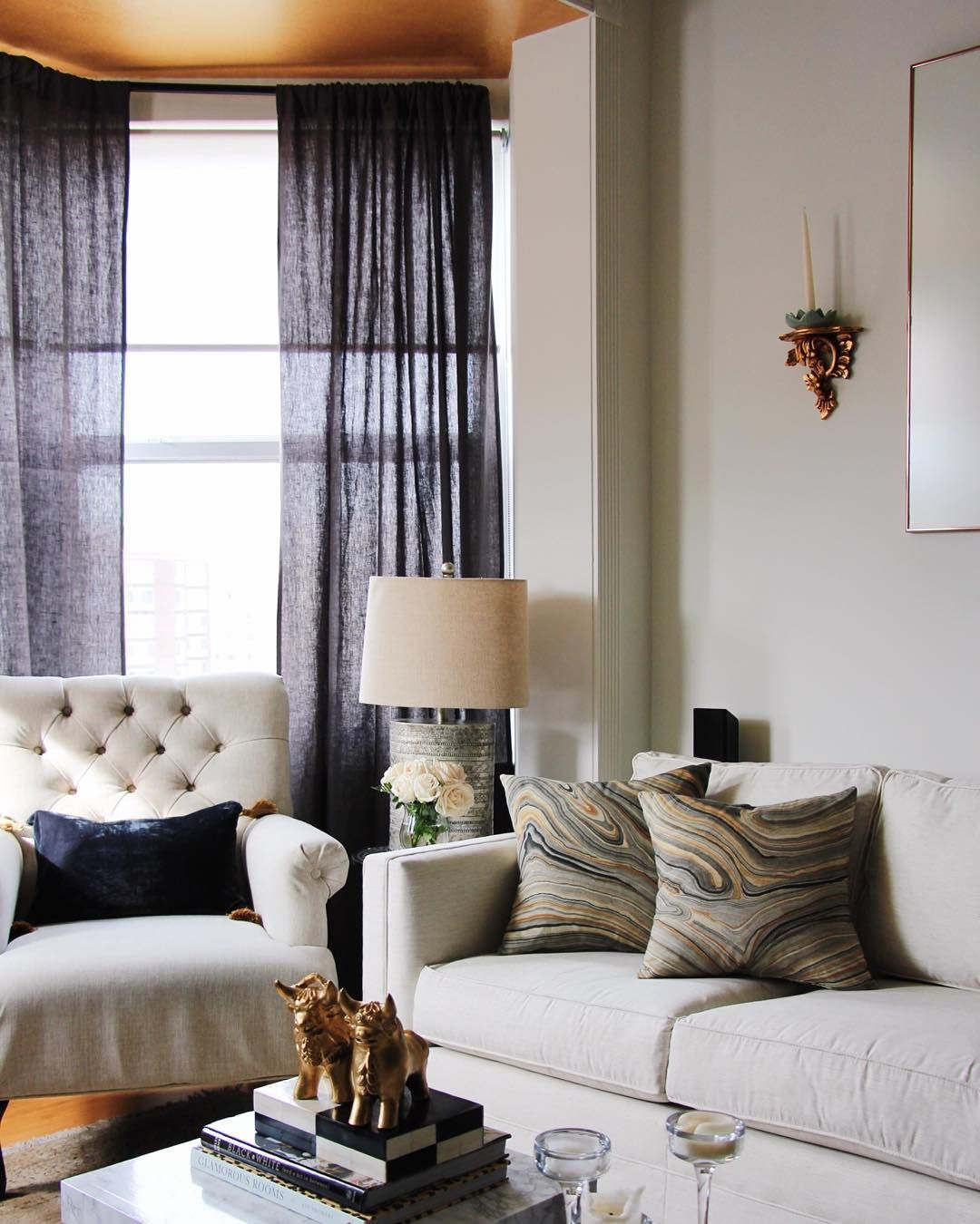 Room Chic Glam Living