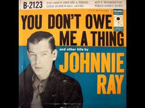 Ain't Misbehavin' ~ By Johnnie Ray 1956