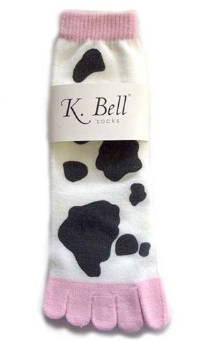 1a6e90d308523 Cow Toe Socks (Women's) | Products I Love | Toe socks for women, Toe ...