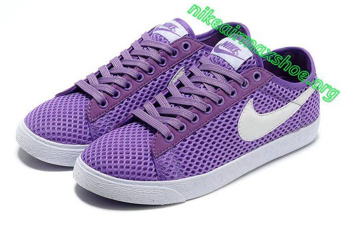 release date: 31360 c0e19 Nike Blazer Low Mesh Womens Pure Purple White 579956 501
