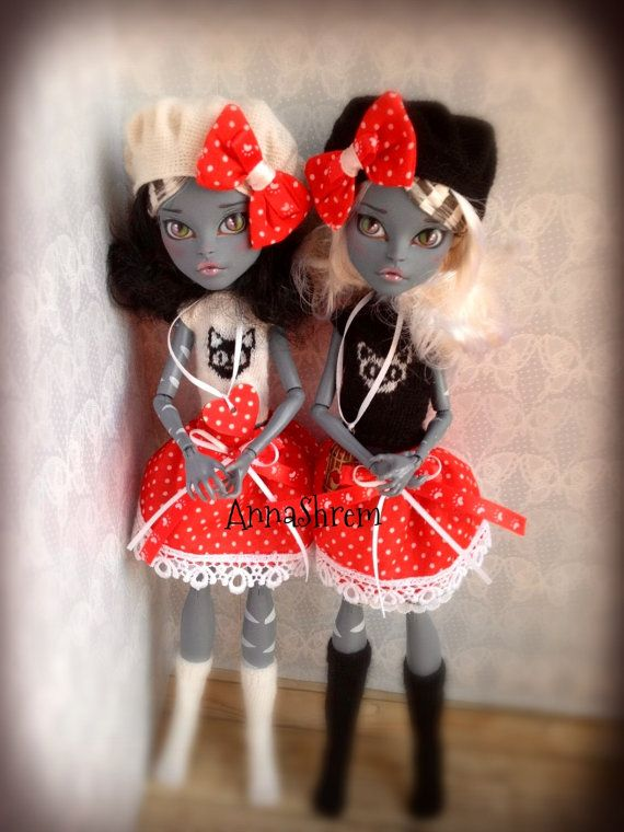 Beautiful OOAK Monster High dolls by GreyfauxxCollection on Etsy