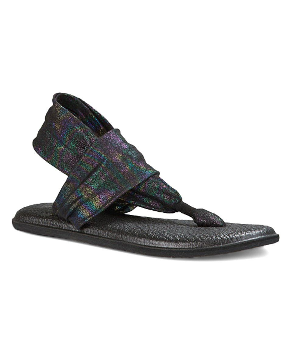 Take a look at this Black Rainbow Yoga Sling 2 Sandal