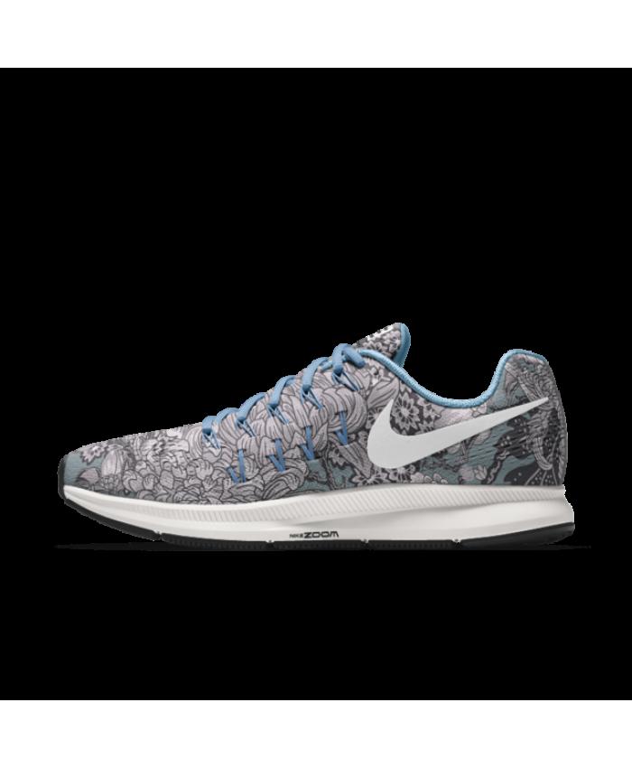Nike Air Zoom Pegasus 33 iD Grey Hong Kong Graphic Shoes Online cheap to buy ,