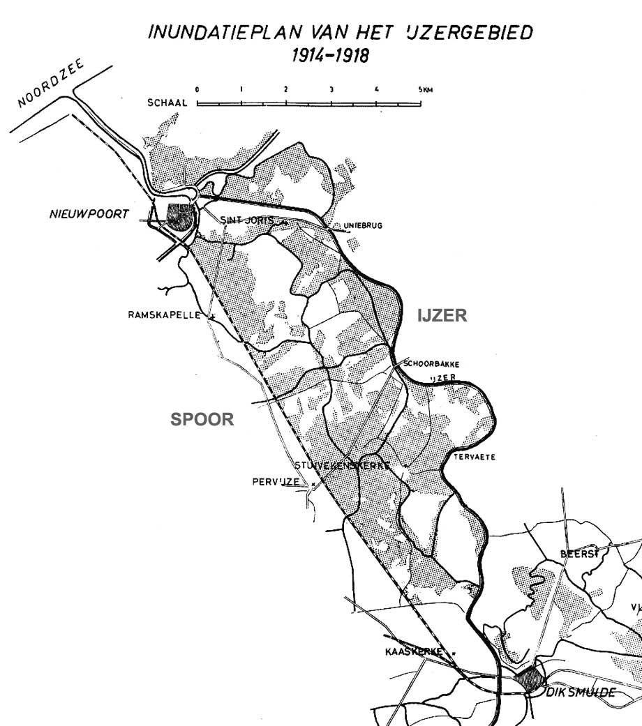Onderwaterzetting Nieuwpoort & Ijzer