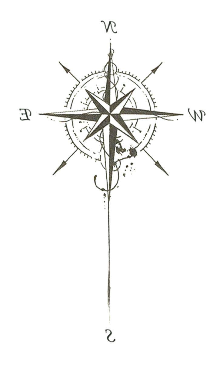 Bildergebnis Fur Tattoo Compass Kompass Tattoo