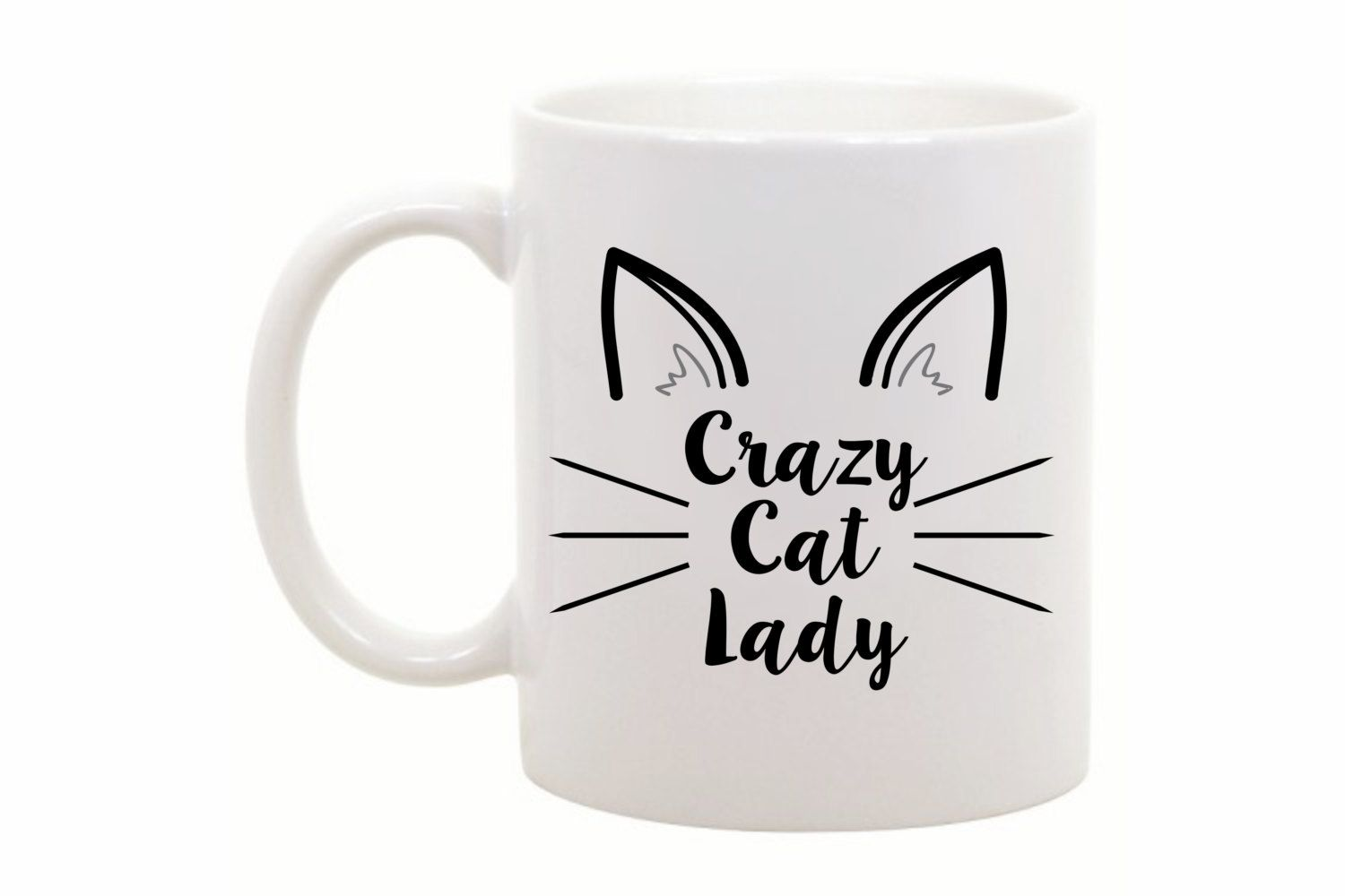 Cat Lover Gift - Funny Cat Mug - Funny Coffee Mug - Funny Coffee Cup - Gift for Cat Owner - Crazy Cat Lady Mug - Funny Gift - Office Gift by TheCoffeeCorner on Etsy