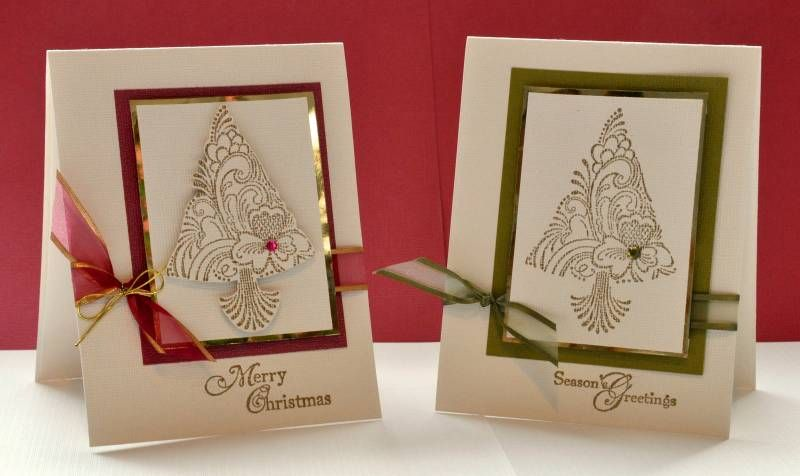cas34 scandi Christmas cards by Love Stampin!!!!!!!! - Cards and Paper Crafts at Splitcoaststampers