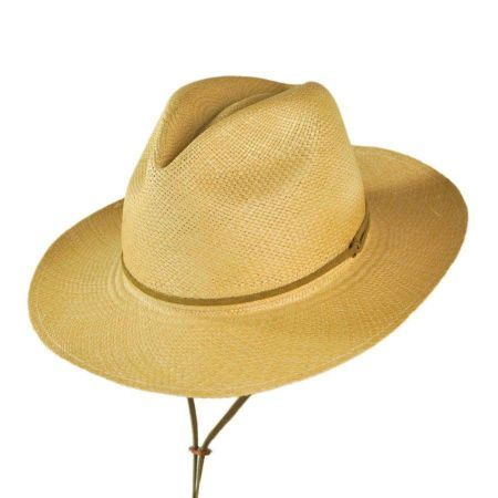 Explorer Panama Straw Fedora Hat - Made to Order  bbd4715da21