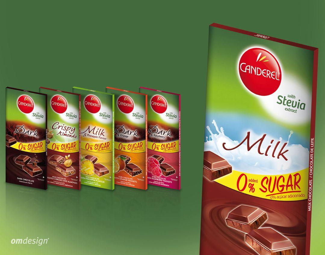 Chocolates Canderel Stevia (2015)  #Omdesign #Design #Portugal #LeçadaPalmeira #Since1998 #AwardedAgency #DesignAwards #Branding #Chocolates #Canderel #ChocolatesCanderel #CanderelStevia #Stevia #Imperial #PortugalFoods