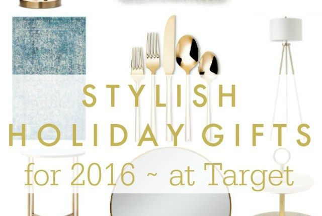 15 Stylish Holiday Gift Ideas For The Home All From Target