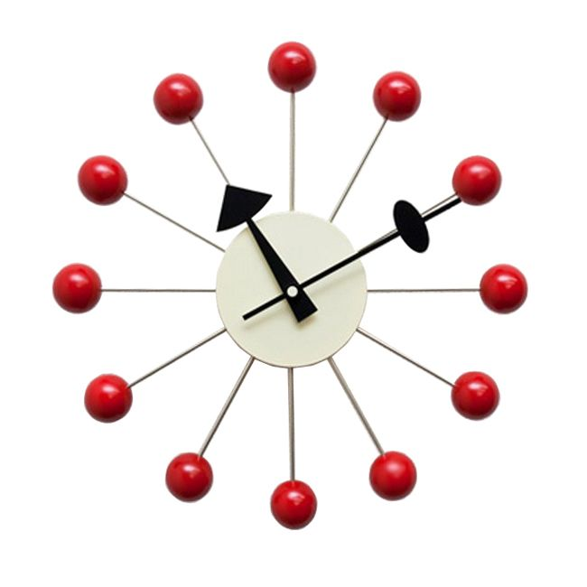 George Nelson Style Ball Clock Interior Addict | My Pinterest