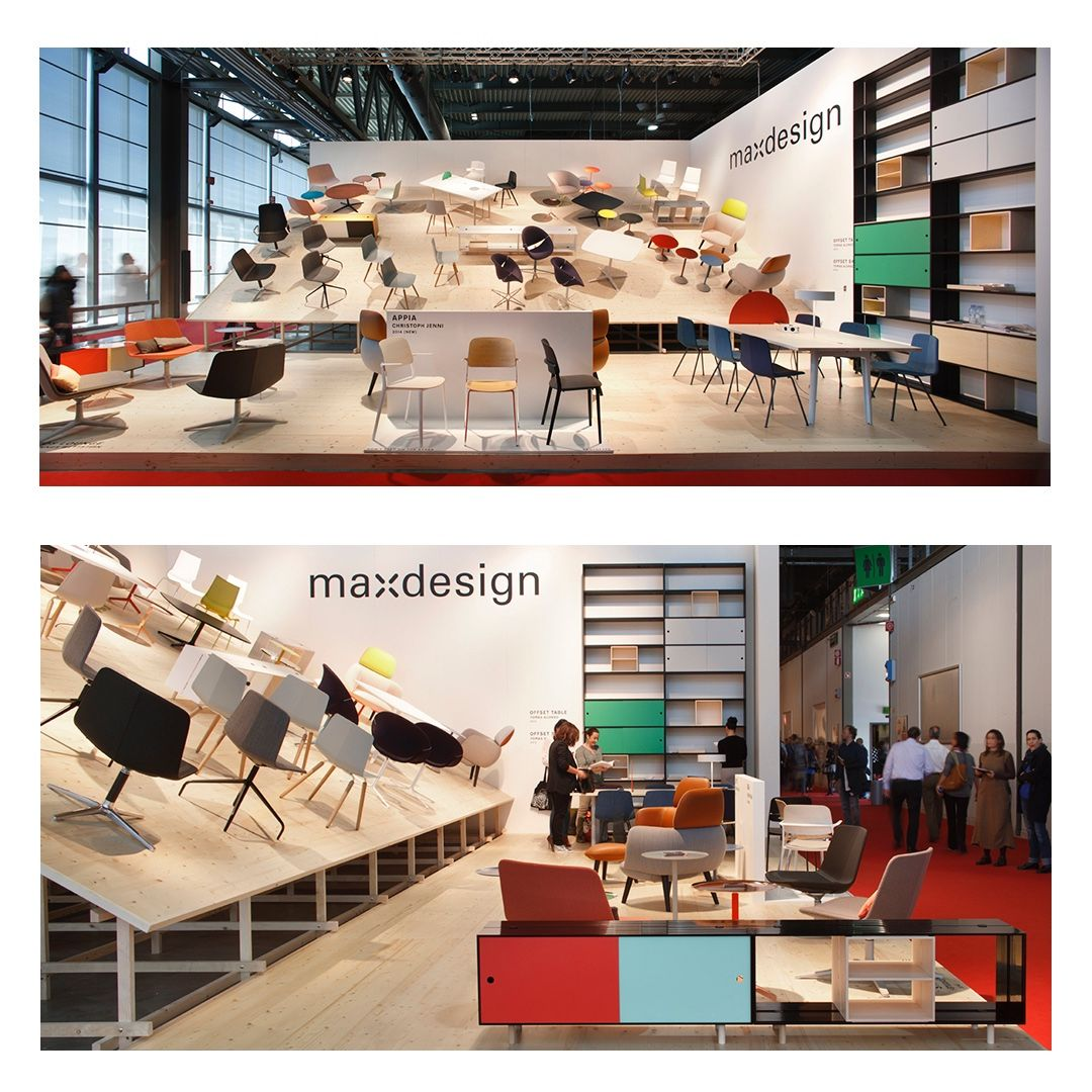 The project of the stand of Maxdesign Italia at the Salone del Mobile of Milan, 2014. Pictures by Alberto Parise. #stand#standdesign #salonedelmobile #Milan #productlaunch #interiordesign #furnituredesign #scenography