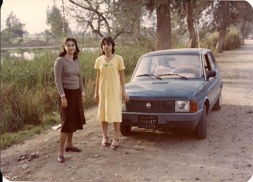 Fiat 127 A Short Rest On The Delta Road From Alexandria To Cairo Egypt In 1980 Cairo Egypt Cairo Alexandria