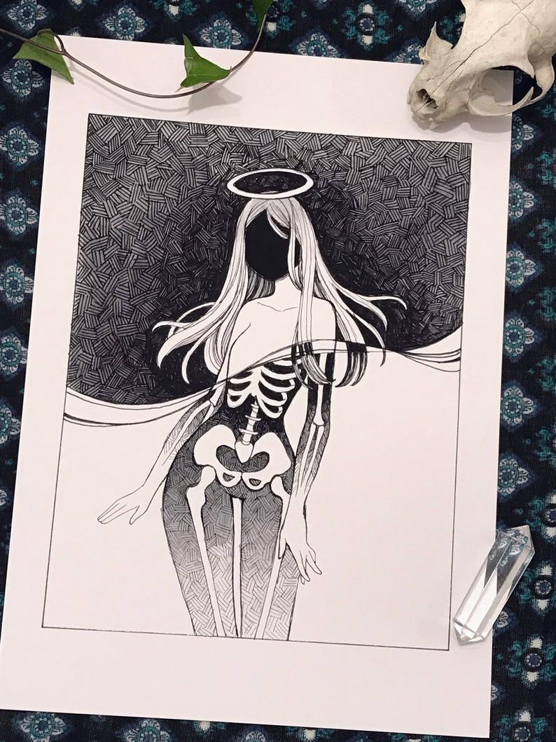 Afterlife, A4 and A5 print
