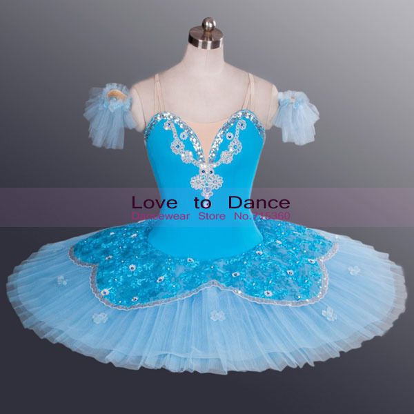 ae0ee6055 New Child Adult Classic Ballet Tutus Girls Pancake Tutu Blue Color ...