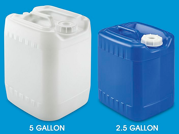 Jerry Cans Jerricans Plastic Jerricans In Stock Uline Jerry