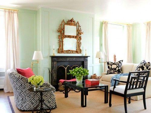 Benjamin Moore Light Pistachio Mint Living Rooms Living Room Green Mint Green Rooms