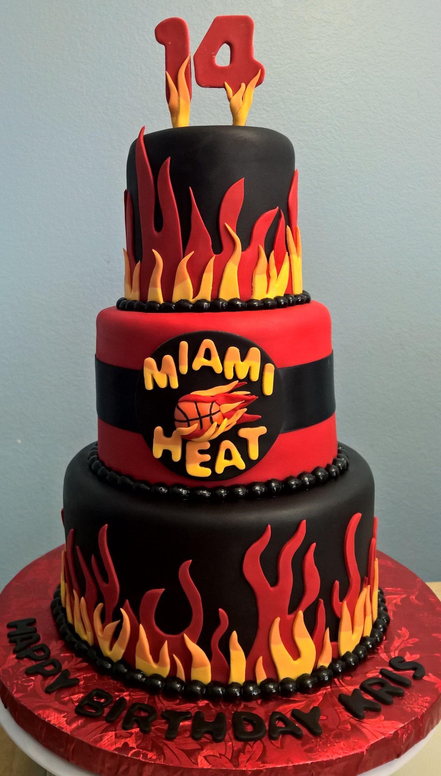 Soccer Miami Birthdays Miami Heat Cake Birthdays Miami Heat Tshirt Miami Heat Vice City Wallpaper Miami Heat Game Outfit In 2020 Miami Heat Cake Miami Heat Cake
