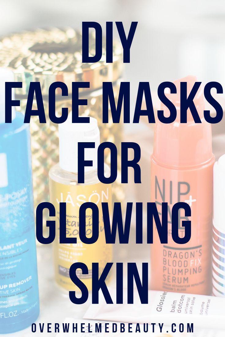 5 AllNatural DIY Face Masks for Glowing Skin Glowing
