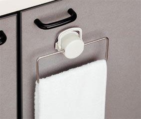 扉に傷を付けずに吸盤で取付 吸盤ロック機能付 さびにくいステンレス