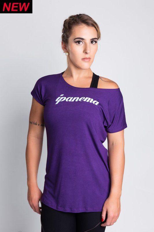 Camisa Ipanema Roxa - Empírica Fitness