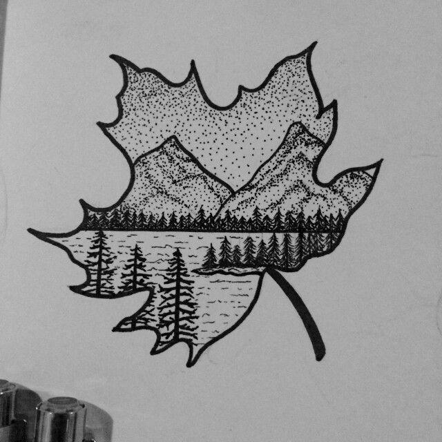 Small Canada Tattoo: Tattoos Nature Tattoos Black Tattoos Nice Tattoos Canadian