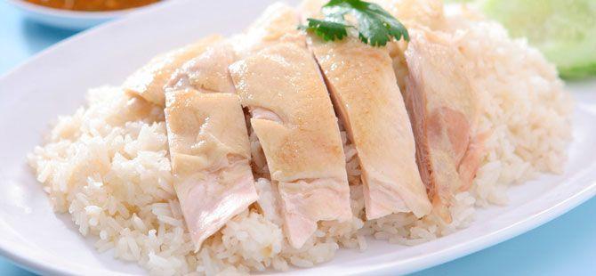 Dieta a base de arroz y pollo