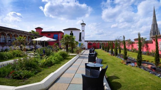 Kensington Roof Gardens Roof Garden Roof Gardens London Best Rooftop Bars