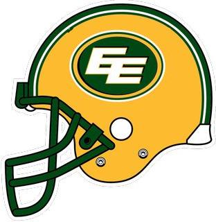 Edmonton Eskimos Football Helmets Canadian Football League Canadian Football