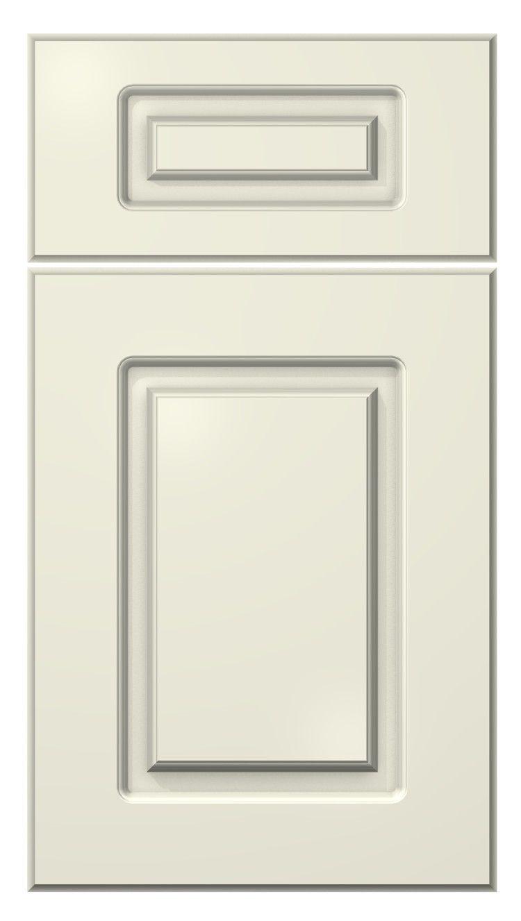 softline door style :: painted :: antique white #kitchen #cabinets #door - Softline Door Style :: Painted :: Antique White #kitchen #cabinets