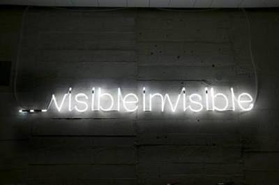 """visibleinvisible"" Cerith Wyn Evans"