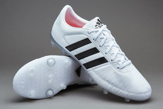adidas Gloro 16.1 FG - White/Core Black/Matte Silver