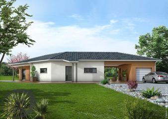 Plan maison Tanzanite  Maisons Clair Logis  Maison contemporaine