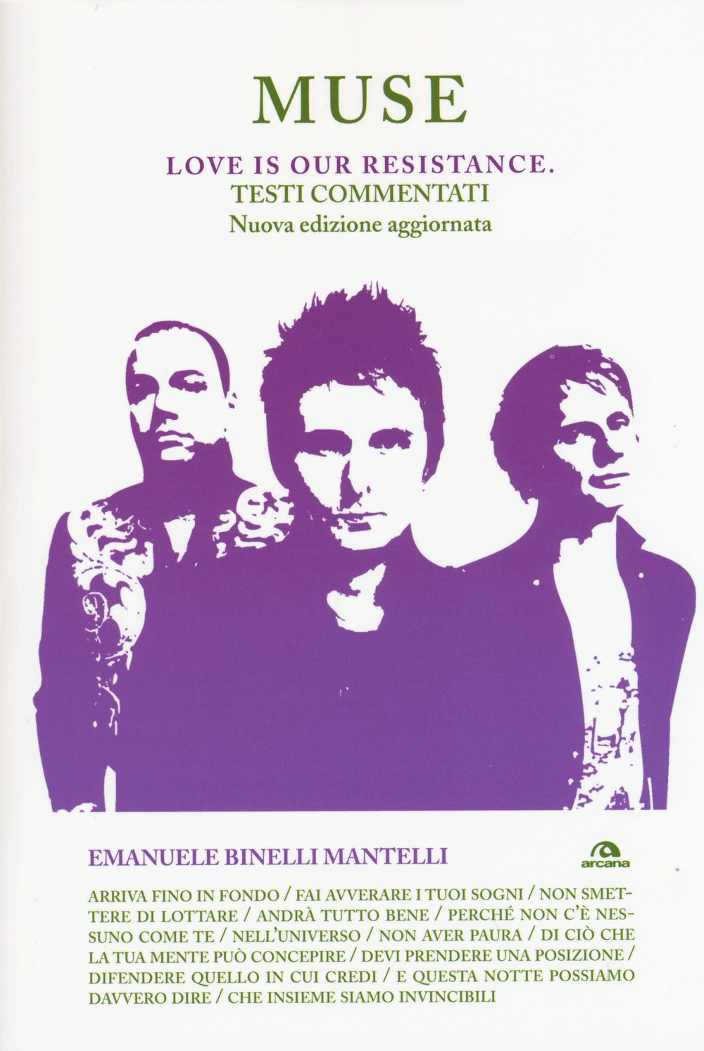 Muse Love Is Our Resistance Testi Commentati Love Muse Resistance Commentati Testi Testi Delle Canzoni Libri