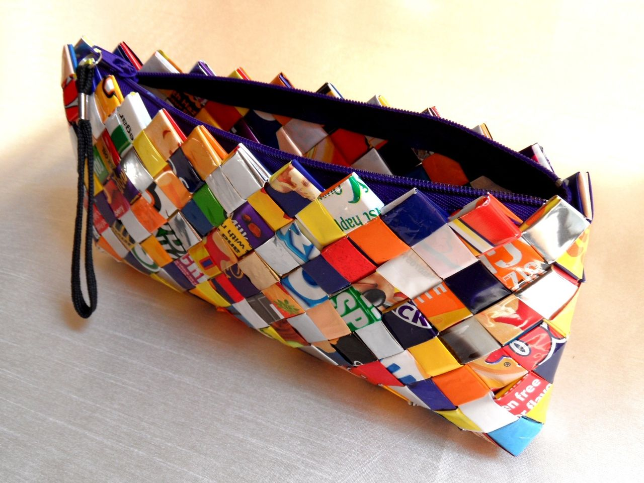 Candy Wrapper Bag by Esselle Crafts | Candy wrappers, Bags, Wrappers