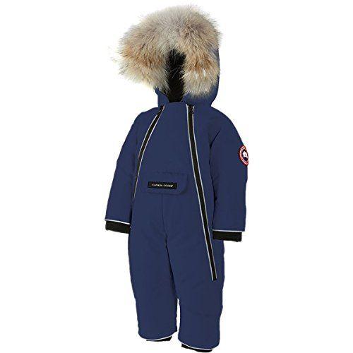 Canada Goose Baby SnowSuit azul