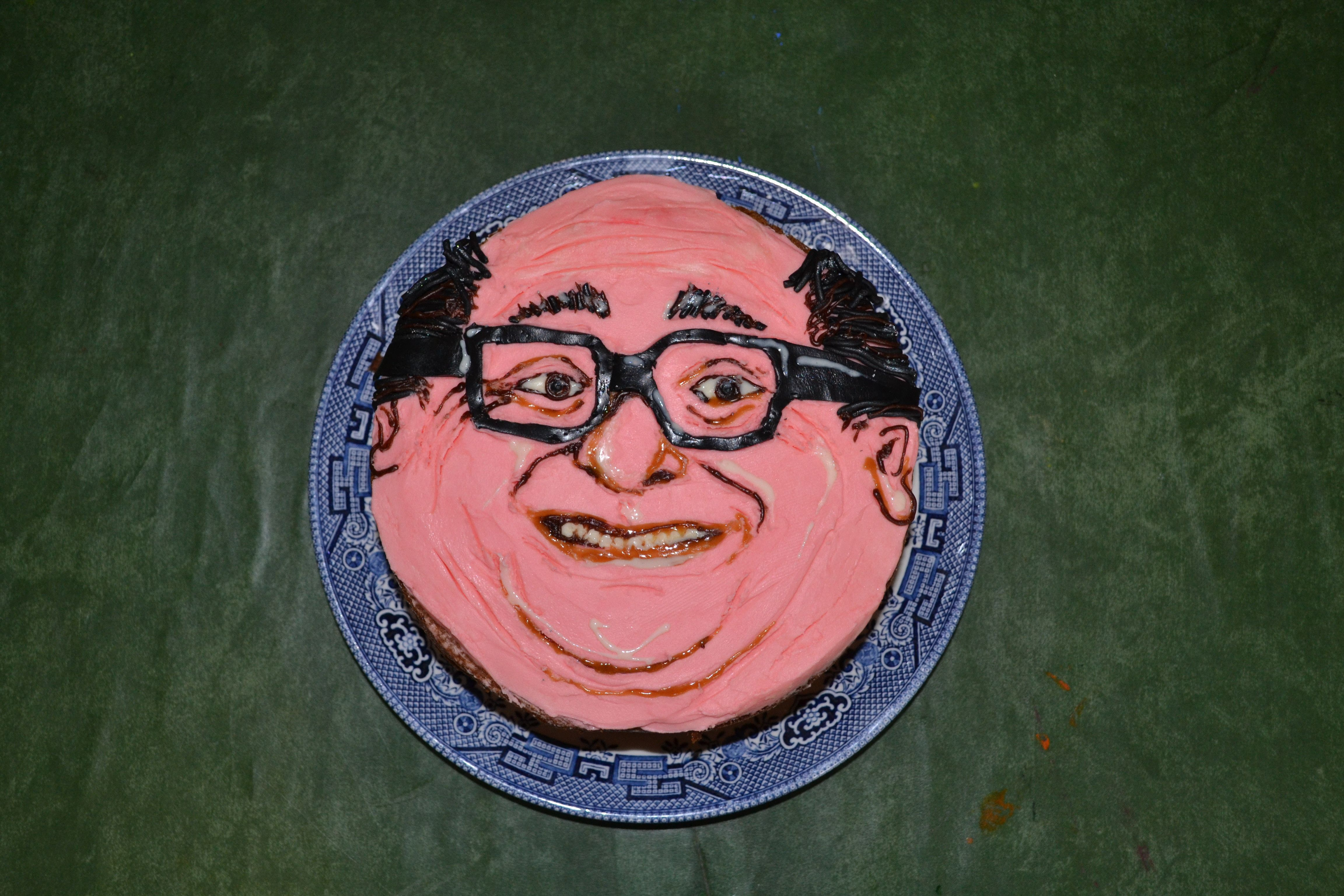 danny devito birthday My sister asked for a Danny DeVito cake for her birthday, I  danny devito birthday