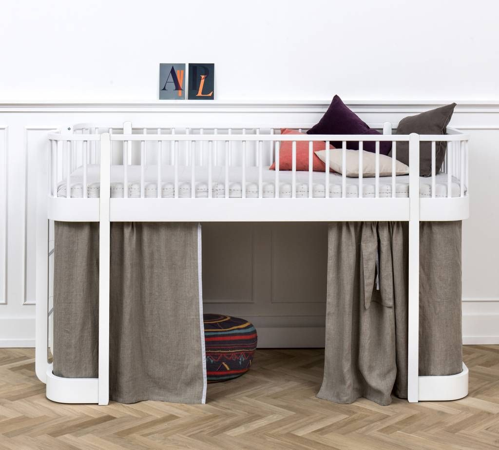 Hochbett Halbhoch Von Oliver Furniture Mit Niedriger