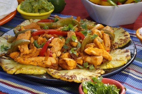 طريقة عمل فاهيتا الدجاج Chicken Fajita Recipe Chicken Fajitas Fajitas