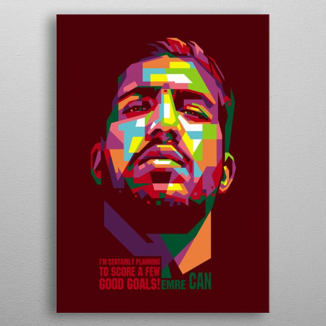 is a German professional footballer who plays as a central midfielder for Italian club…   Displate thumbnail