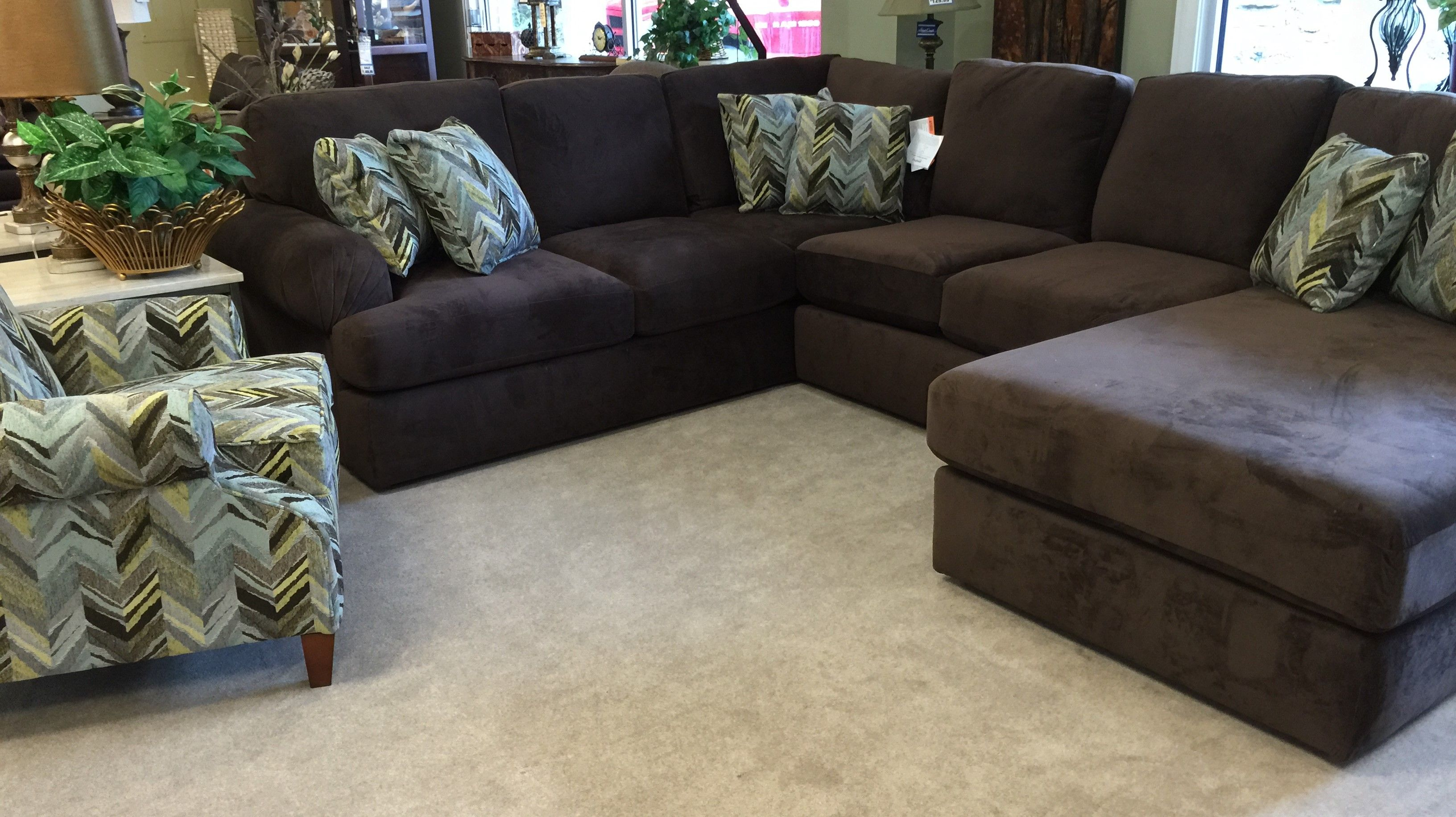 England 8250 Romance Java Sectional Available At Kemper Furniture In Hazard Ky Kemperfurnitureinc Com Or 1606 439 2400 Sectional Furniture Kemper